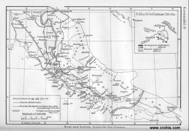 Rim, Italija i bitka kod Cannae