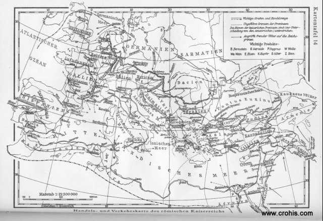 Trgovina i promet u rimskom carstvu