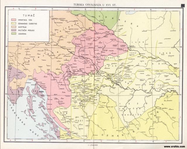 Turska osvajanja u XVI. stoljeću