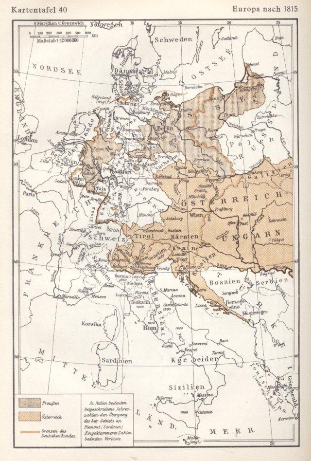 Europa poslije 1815.