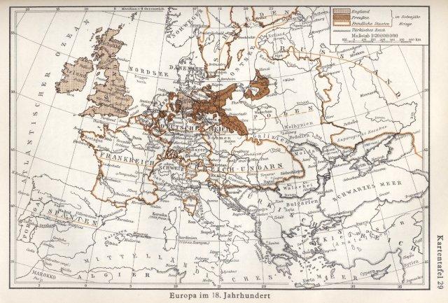 Europa u 18. stoljeću