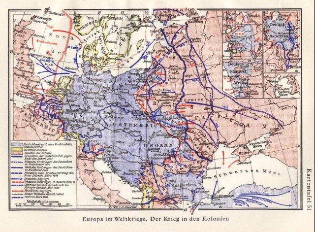 Europa za 1. svjetskog rata