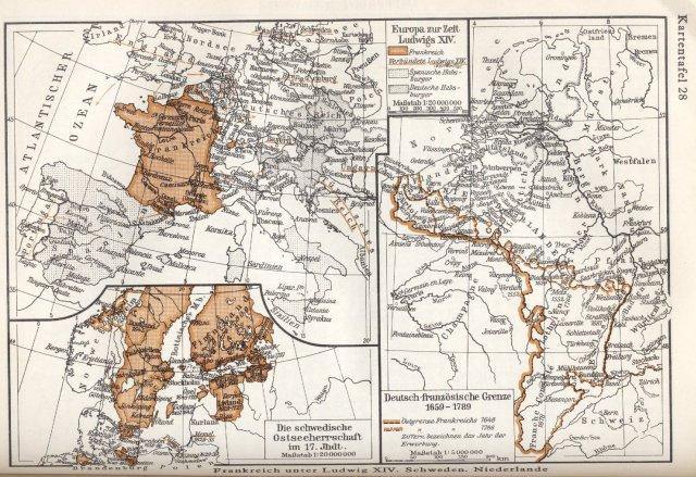 Francuska za Louisa XIV., Nizozemska, Švedska