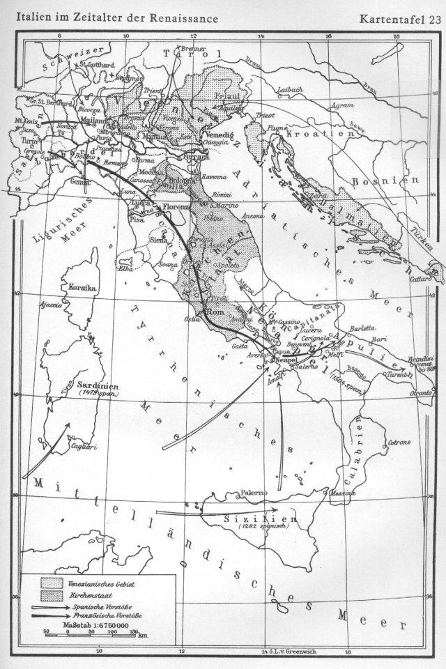 Italija u doba renesanse