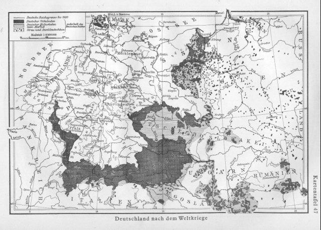 Njemačka poslije 1. svjetskog rata