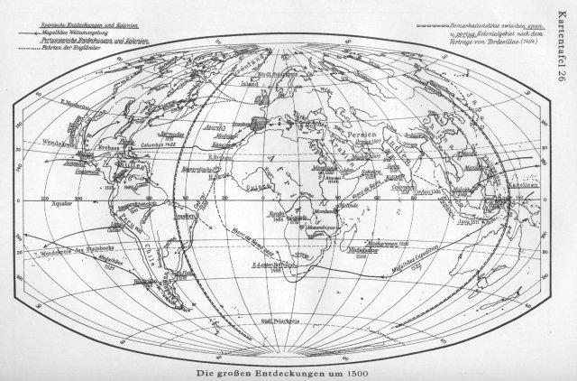 Velika otkrića oko 1500. godine