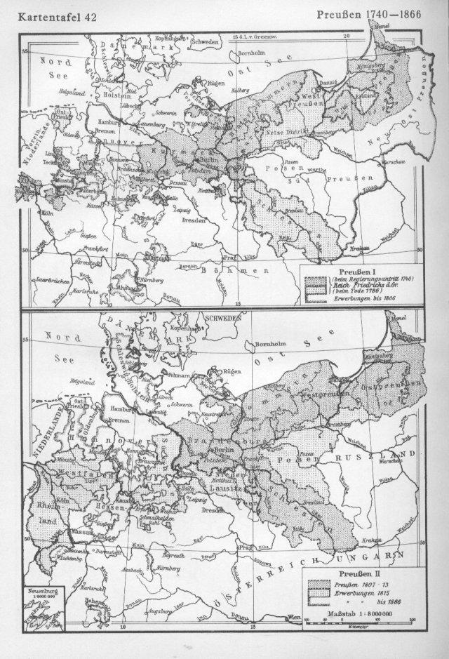 Pruska 1740. - 1866.