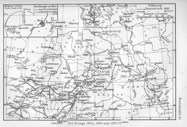Ratovi 1864., 1866. i 1870./71.