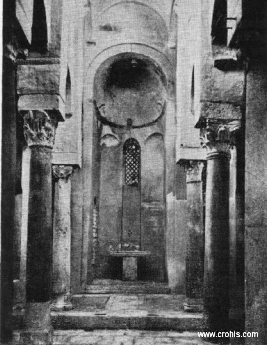 Crkva sv. Barbare u Trogiru iz 9. st.