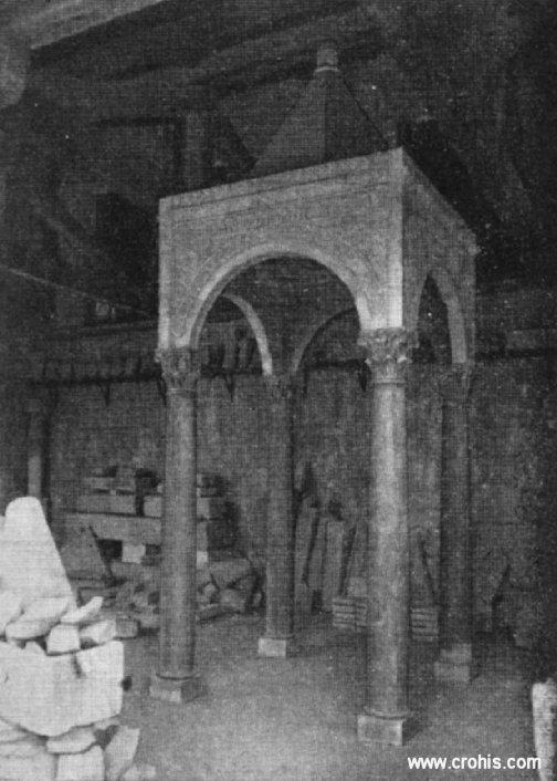 Oltarni ciborij sv. Marte u Bijaćima