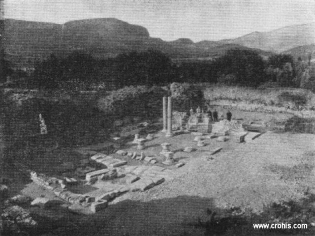 Ostaci starohrvatske crkve iz 11. st. na solinskoj Gradini