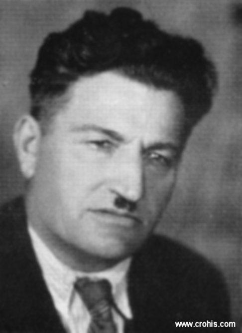 """Paško Kaliterna (1890. - 1944.) Jedan od utemeljitelja HSS-a u Dalamciji. Urednik """"Hrvatskog glasnika"""". Tijekom 2. svjetskog rata surađivao s partizanskim pokretom."""