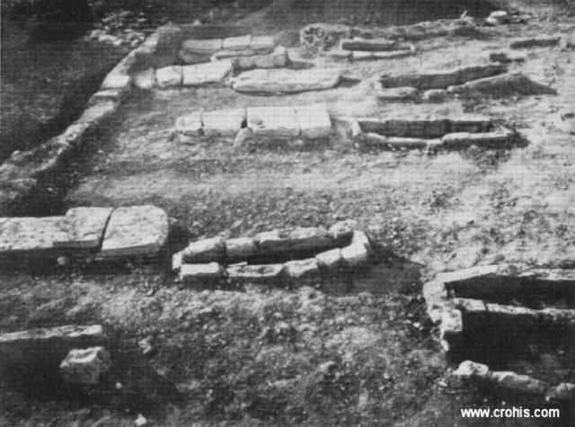 Starohrvatski grobovi na Majdanu kod Solina