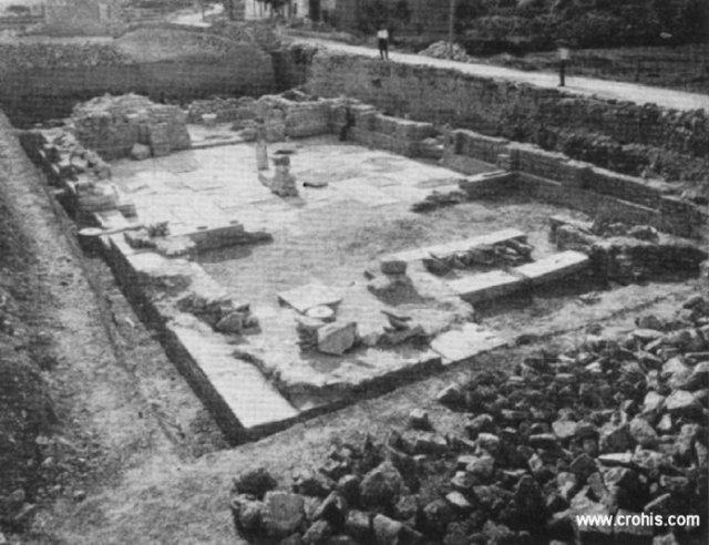 Ostaci crkve sv. Petra i Mojsija u Solinu iz 11. st.