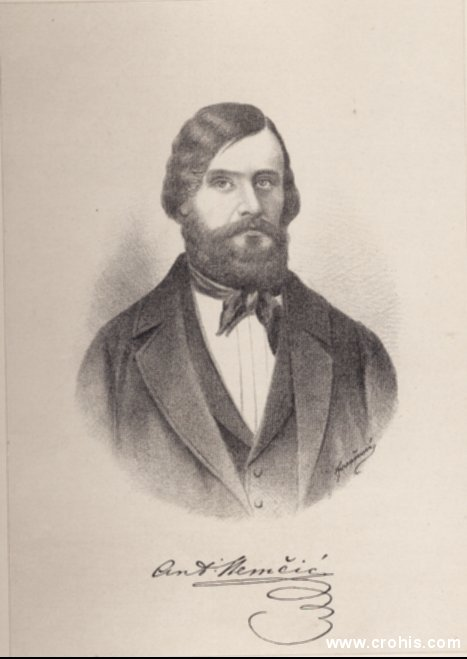 Antun Nemčić (1813. – 1849.), pravnik i književnik. Istaknuti preporoditelj.