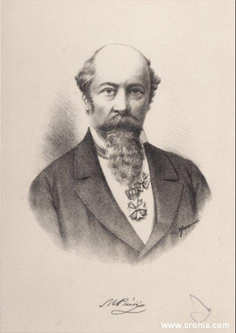 Medo Pucić (1821. – 1882.), pjesnik i publicist. Pristaša sveslavenskih ideja. Bavio se intenzivno dubrovačkom poviješću.