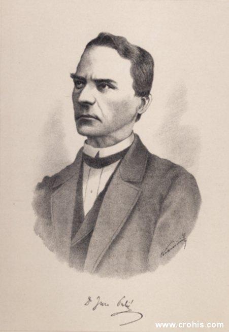Đuro Pulić (1816. – 1883.), svećenik, učitelj i preporoditelj Hrvata u Dalmaciji.