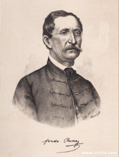 Ferdo Rusan (1810. – 1879.), preporoditelj i glazbenik.