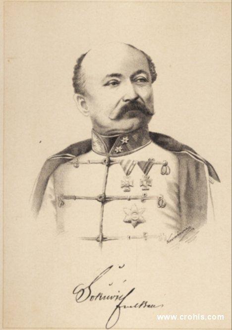 Josip Šokčević (1811. – 1896.), general i hrvatski ban. Za njegova banovanja prestalo je razdoblje apsolutizma i ponovo se 1860. sastao hrvatski sabor.