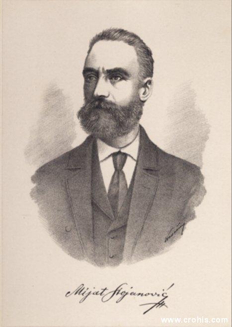 Mijat Stojanović (1818. – 1881.),učitelj i istaknuti prosvjetni djelatnik.