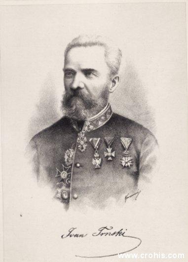 Ivan Trnski (1819. – 1910.), književnik, časnik i političar.