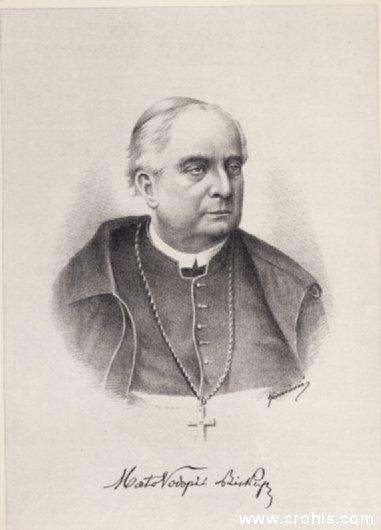 Mato Vodpić (1816. – 1893.), dubrovački biskup i književnik.