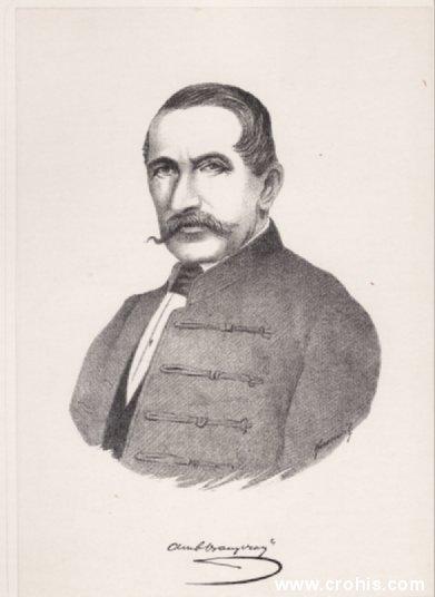 Ambroz Vranyczany Dobrinović (1801. – 1870.), istaknuti poduzetnik i političar.