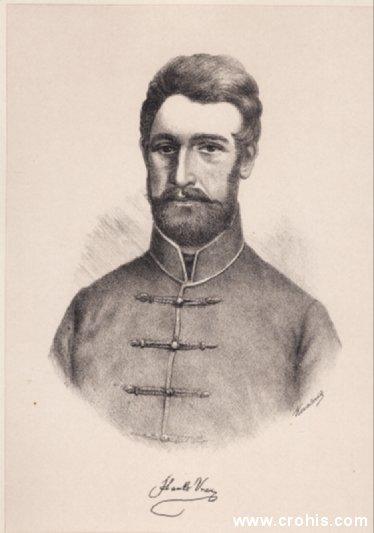 Stanko Vraz (1810. – 1851.), istaknuti preporoditelj i književnik slovenskog podrijetla.