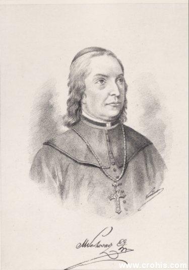 Maksimilijan Vrhovac (1752. – 1827.), zagrebački biskup i prosvjetitelj. Najistaknutiji preteča nacionalnog preporoda.