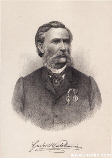 Ljudevit Vukotinović (1813. – 1893.), književnik i političar. Istaknuti preporoditelj.