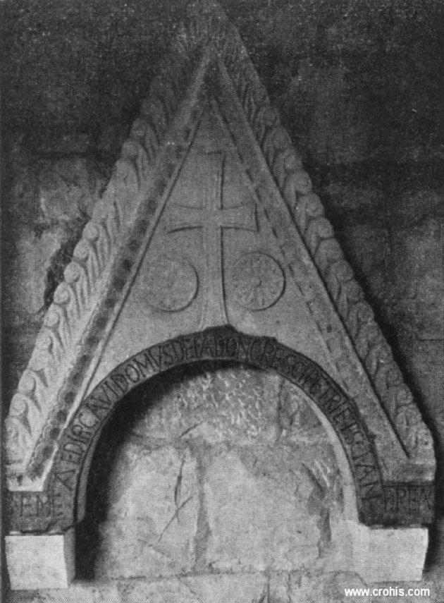 Zabat crkvene pregrade iz starohrvatskog doba