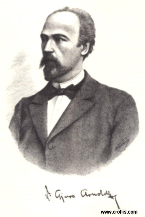 Đuro Arnold (1854. – 1941.), istaknuti pedagog i filozof.