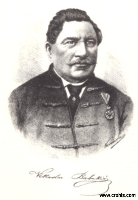 Vjekoslav Babukić (1812. – 1875.), preporoditelj i istaknuti jezikoslovac.