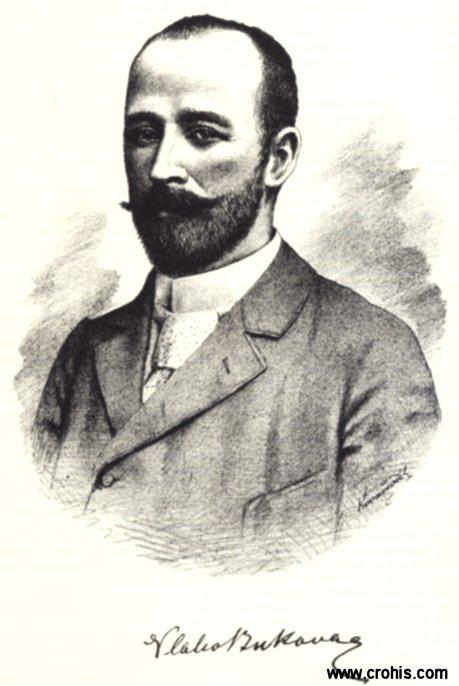 Vlaho Bukovac (1844. – 1922.), slikar, najvažnija osoba hrvatske likovne umjetnosti krajem 19. stoljeća.