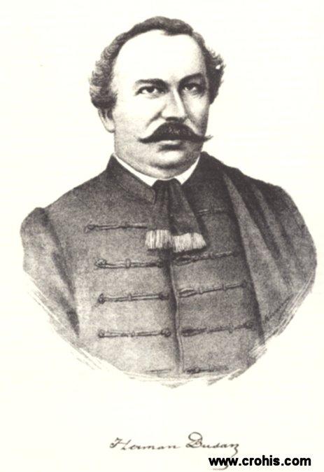 Herman Bužan (1800. – 1862.), preporoditelj i zastupnik u hrvatskom i ugarsko-hrvatskom saboru.
