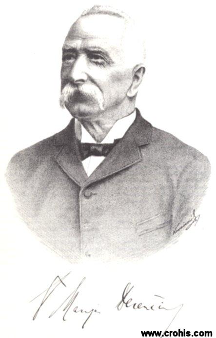 Marijan Derenčin (1836. – 1908.), političar i književnik.