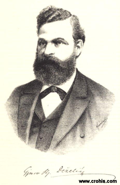 Đuro Deželić (1838. – 1907.), književnik i publicist.