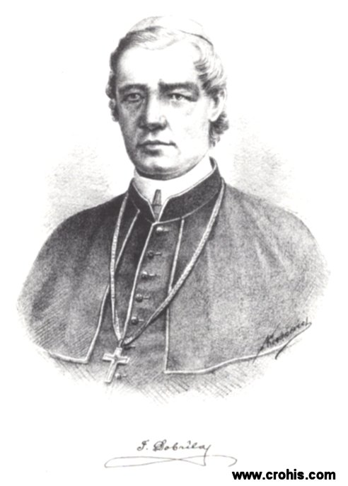Juraj Dobrila (1812. – 1882.), biskup, glavni inicijator preporoda istarskih Hrvata.