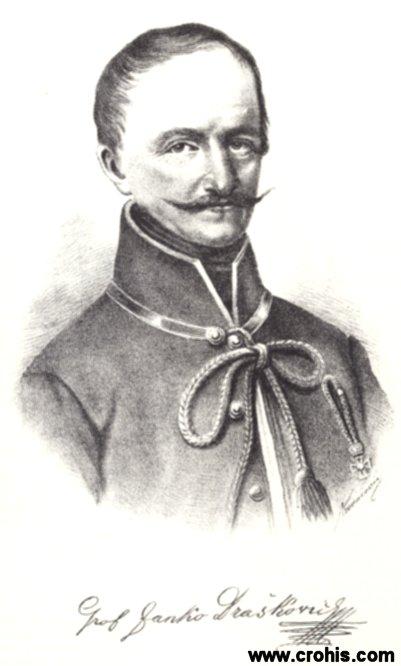 Janko Drašković (1770. – 1856.), grof, jedan od najistaknutijih hrvatskih preporoditelja.