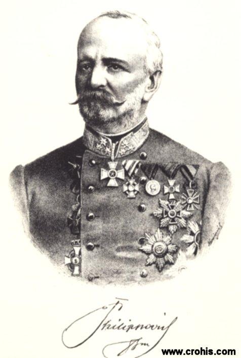Franjo Filipović (1820. -), austro-ugarski podmaršal, namjesnik Dalmacije.
