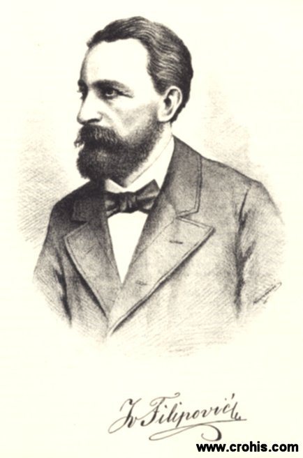 Ivan Filipović (1823. - 1895.), istaknuti učitelj i pedagog.