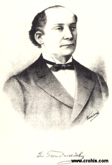 Josip Freudenreich (1827. - 1881.), glumac, redatelj i dramatičar.