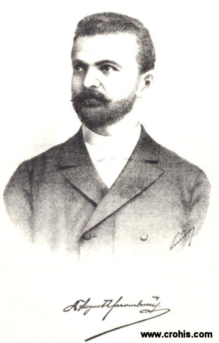 August Harambašić (1861. - 1911.), pjesnik i publicist.