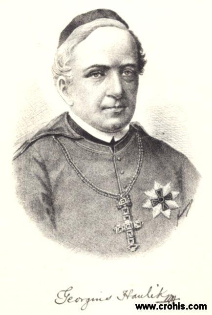 Juraj Haulik (1788. - 1869.), zagrebački biskup i prvi nadbiskup, istaknuti podupiratelj preporoda.