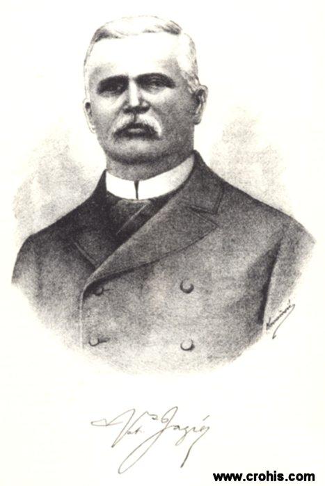 Vatroslav Jagić (1838. - 1923.), jedan od najistaknutijih slavista svoga vremena.