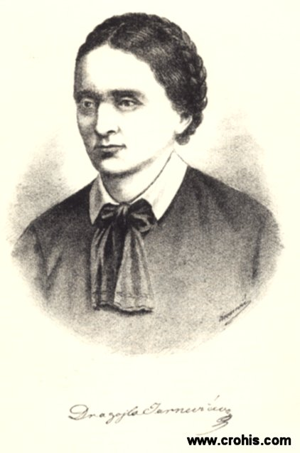 Dragojla Jarnević (1812. - 1875.), prva književnica narodnog preporoda.