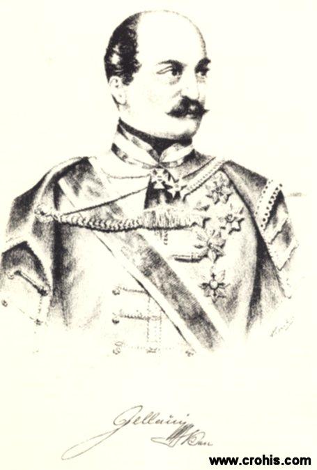 Josip Jelčić (1801. - 1859.), hrvatski ban. Najistaknutija osoba revolucionarne 1848. u Hrvatskoj. Ukinuo kmetstvo.