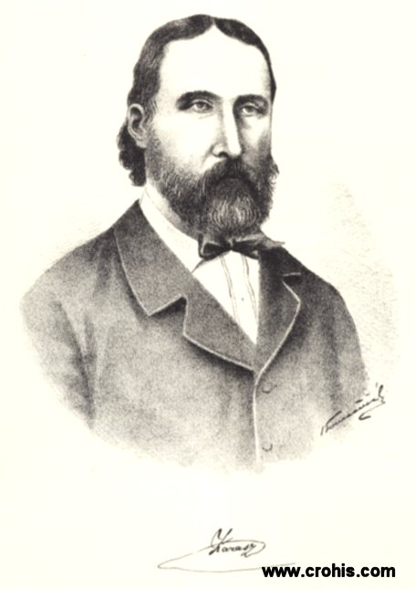 Vjekoslav Karas (1821. - 1858.), najistaknutiji slikar preporodnog razdoblja.