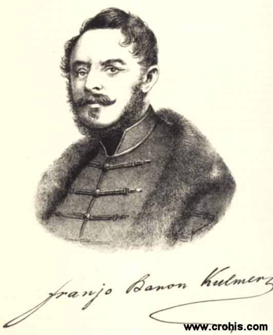 Franjo Kulmer (1806. – 1853.), političar. Imao osobito važnu ulogu za revolucije 1848.