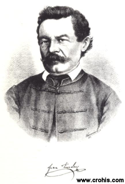 Fran Kurelac (1811. – 1874.), književnik i filolog. Glavni predstavnik riječke filološke škole.